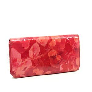 Auth Louis Vuitton Zippy Wallet Rose #N0391V33